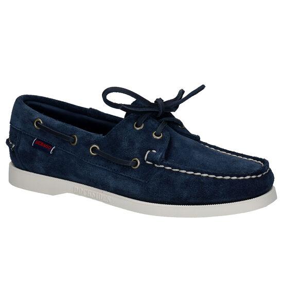 Sebago Dockside Blauwe Bootschoenen