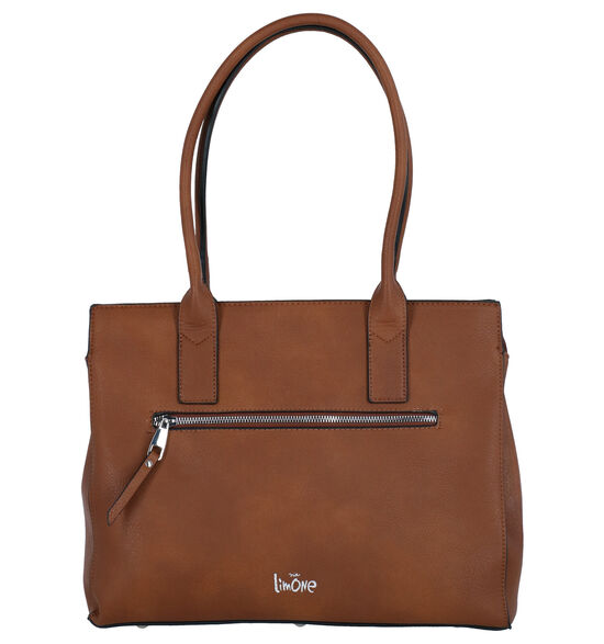 Via Limone Cognac Laptoptas