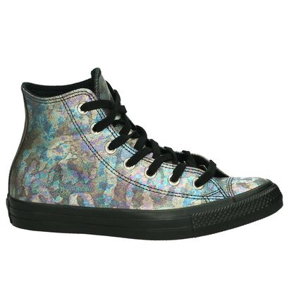 Witte Sneakers met Sterren Converse Chuck Taylor All Star High, Multi, pdp