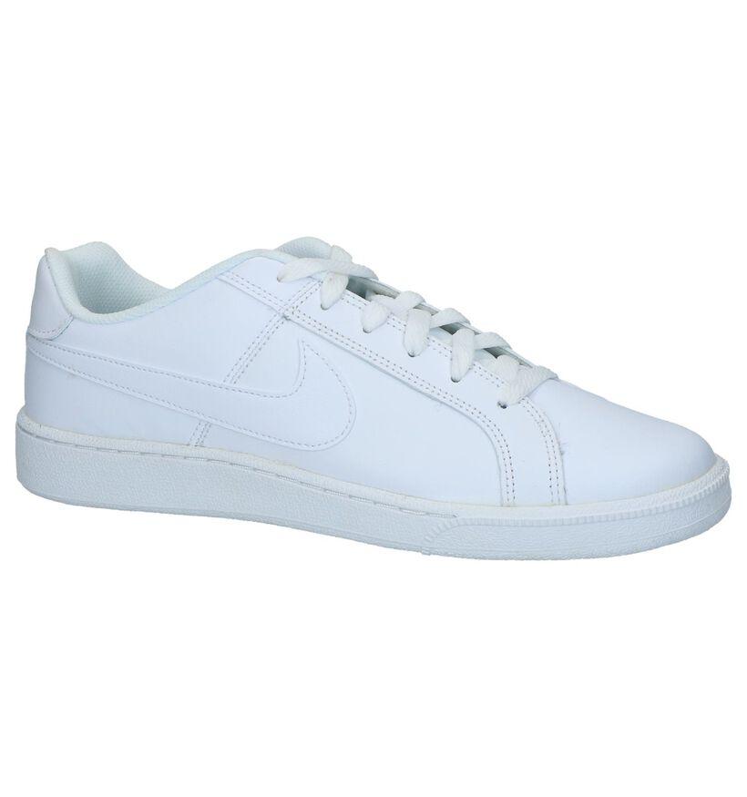 Witte Nike Court Royale Sneakers in kunstleer (234111)