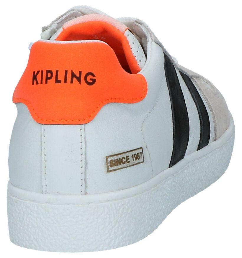 Witte Lage Schoenen Kipling Dover in leer (247793)