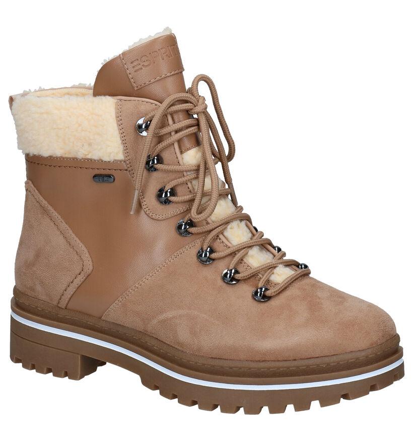 Esprit Bruine Boots in faux fur (279623)