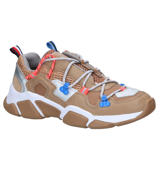 Tommy Hilfiger City Voyager Bruine Sneakers