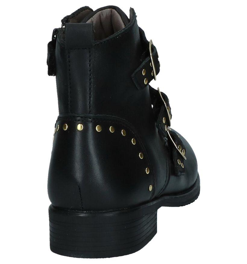 Zwarte Boots Stoer Milo Mila by Torfs in leer (230841)