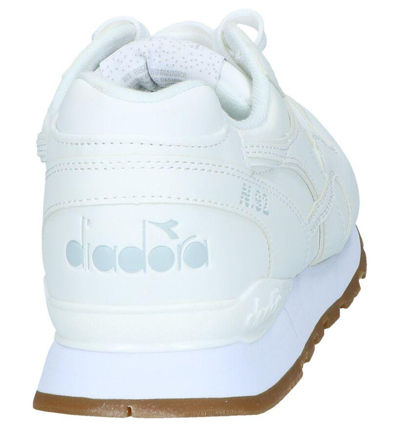 Witte Lage Sneakers Diadora N.92 in kunstleer (239633)