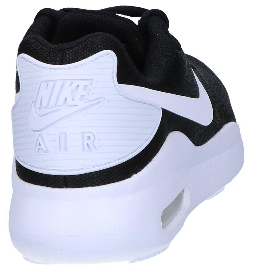 Nike Air Max Zwarte Sneakers in stof (283877)