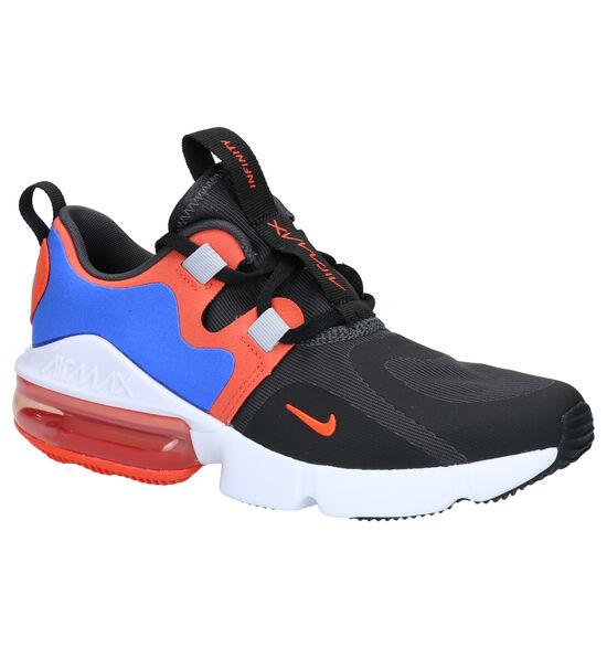 Nike Air Max Infinity Blauw/Zwarte Sneakers