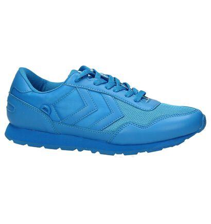 Blauwe Hummel Sneakers in stof (163783)