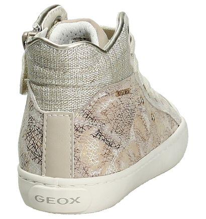 Geox Sneaker Hoog Beige in imitatieleer (190714)