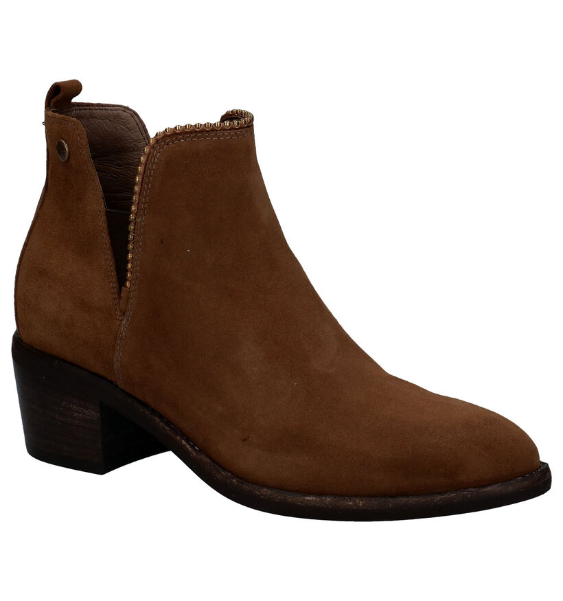 NeroGiardini Zwarte Boots in nubuck (283189)