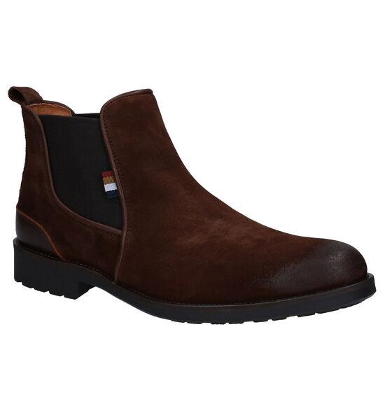 Via Borgo Bruine Chelsea Boots