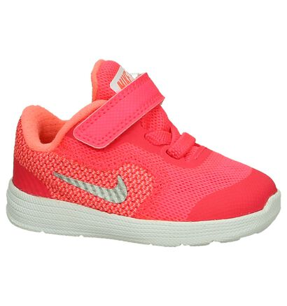 Roze Babysneakers Nike Revolution in stof (198114)