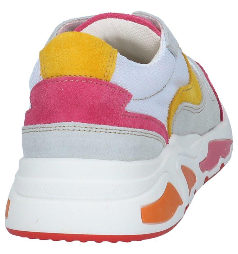 90's Sneakers Poelman Multikleur in daim (233588)