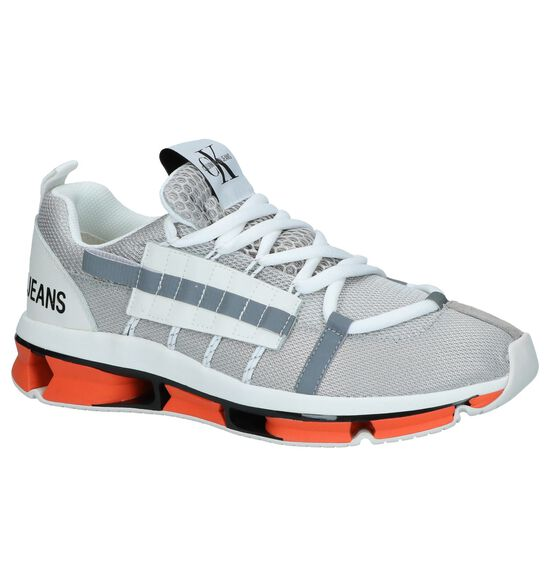 Zilveren Sneakers Calvin Klein Lex