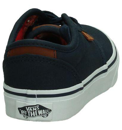 Blauwe Sneakers Vans Atwood DX in stof (190398)