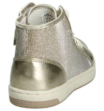 Gouden Hoge Sneakers Geox in stof (190706)