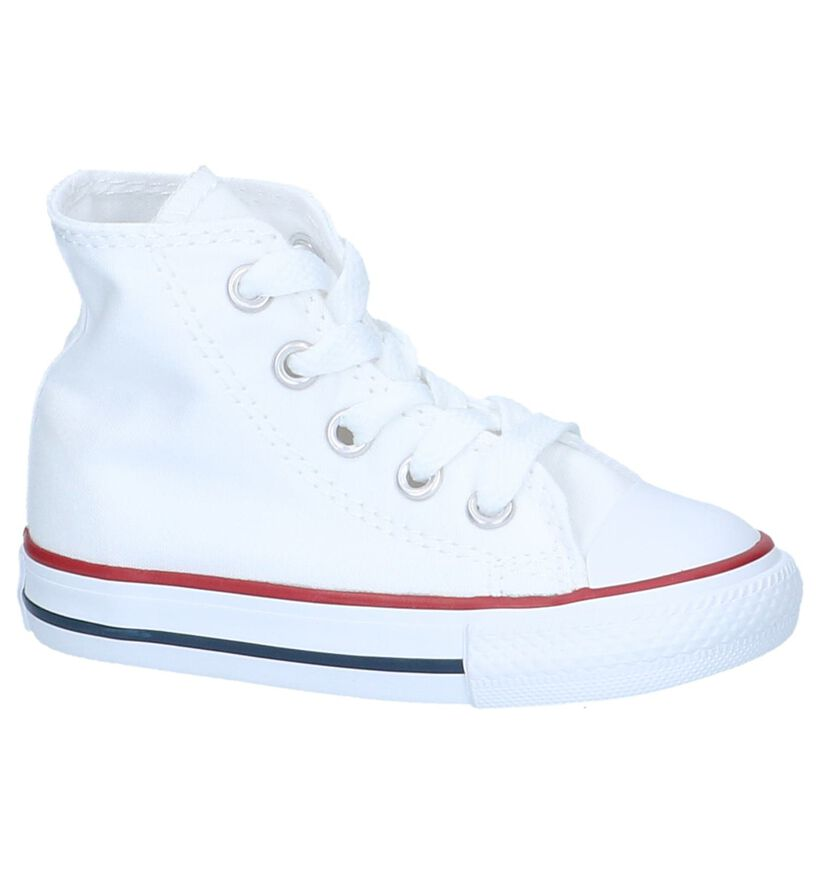 Hoge Witte Sneakers Converse CT All Star in stof (238428)