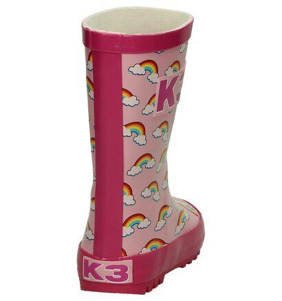 K3 by Torfs Rainbow Roze Regenlaarzen in kunststof (193642)