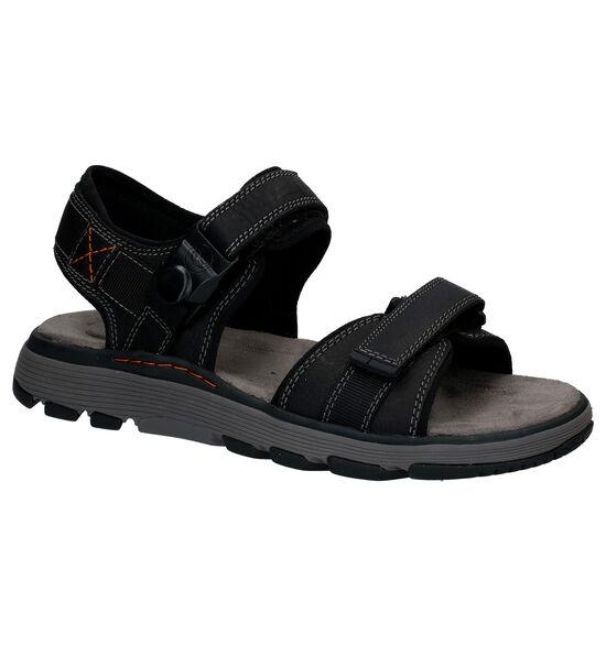 Clarks Zwarte Sandalen