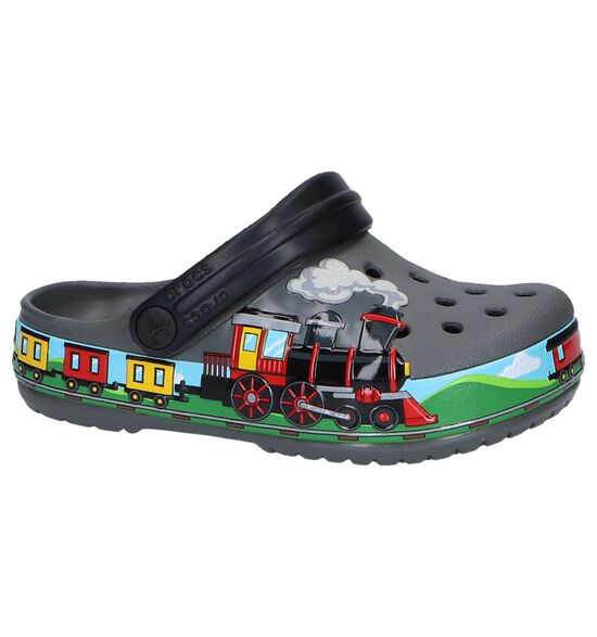 Grijze Slippers Crocs Funlab Train Band