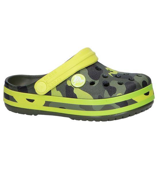 Kaki Slippers Crocs Crocband Multi Graphic