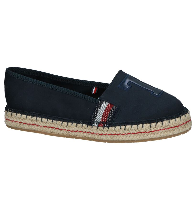 Donkerblauwe Espadrilles Tommy Hilfiger TH Patch in stof (241819)