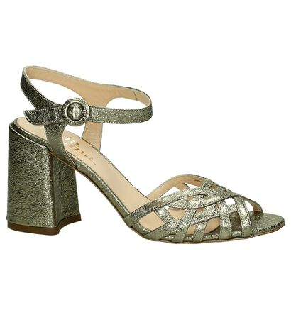 Via Roma by Torfs Gouden Sandalen in leer (197695)