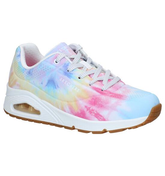 Skechers Uno Hyped Hippie Multicolor Sneakers