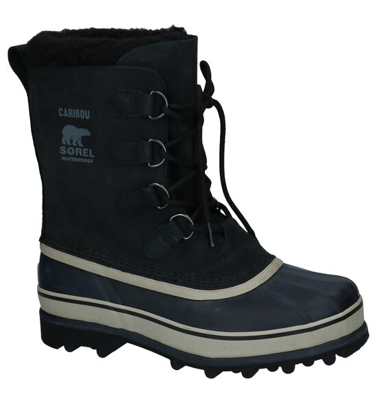 Zwarte Snowboots Sorel Caribou