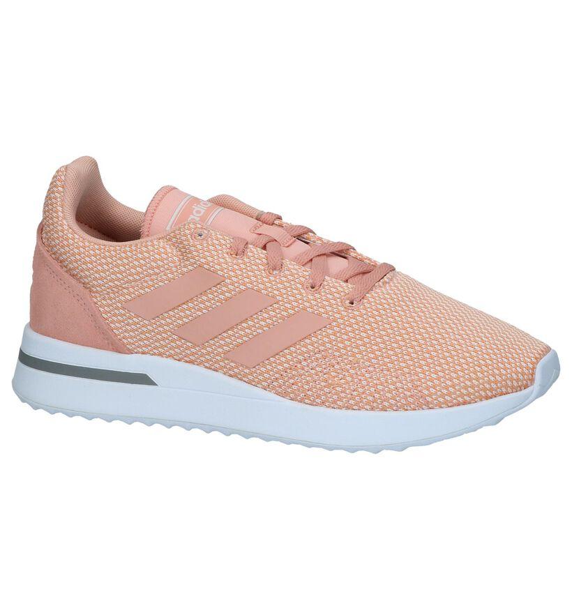 Roze adidas Run 70S Sneakers in stof (237058)