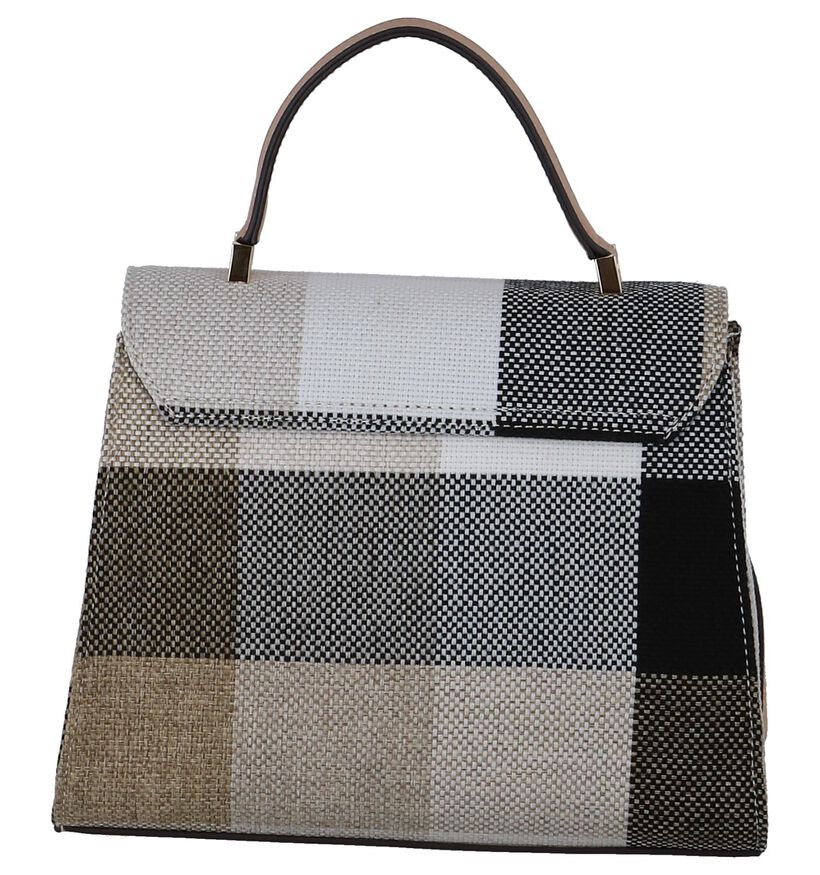 Beige Handtas Laurent David Monaco in kunstleer (245936)