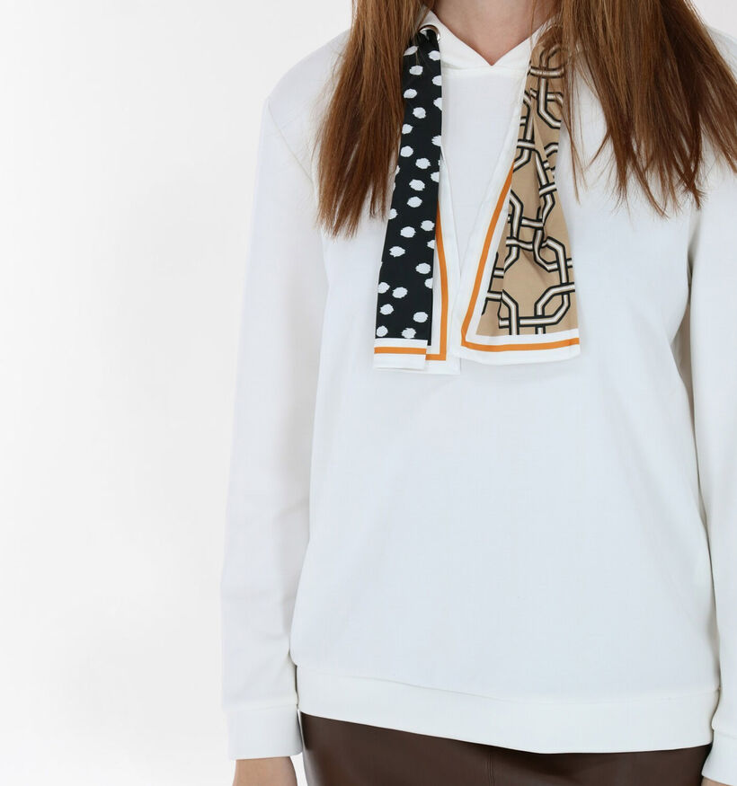 comma Witte Sweater (285064)