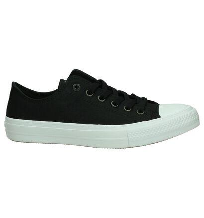 Converse All Star II OX Zwarte Sneakers in stof (178410)