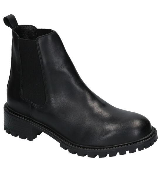 Poelman Zwarte Chelsea Boots