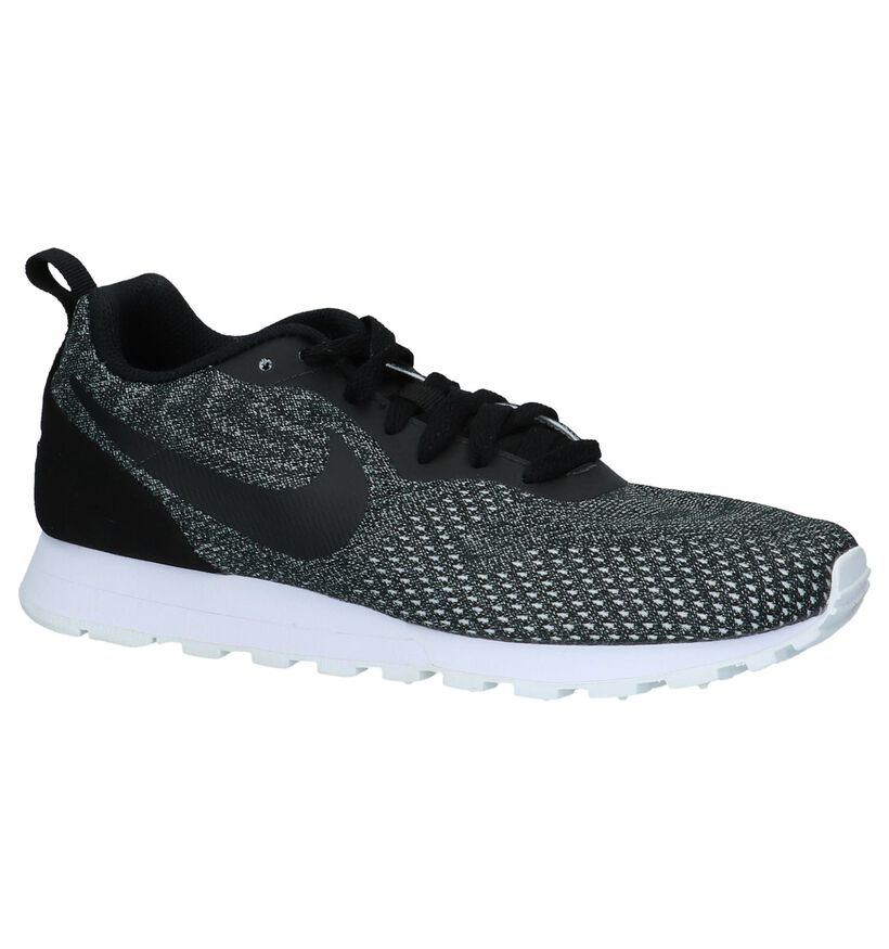 Sneakers Donker Grijs Nike MD Runner in kunstleer (218319)