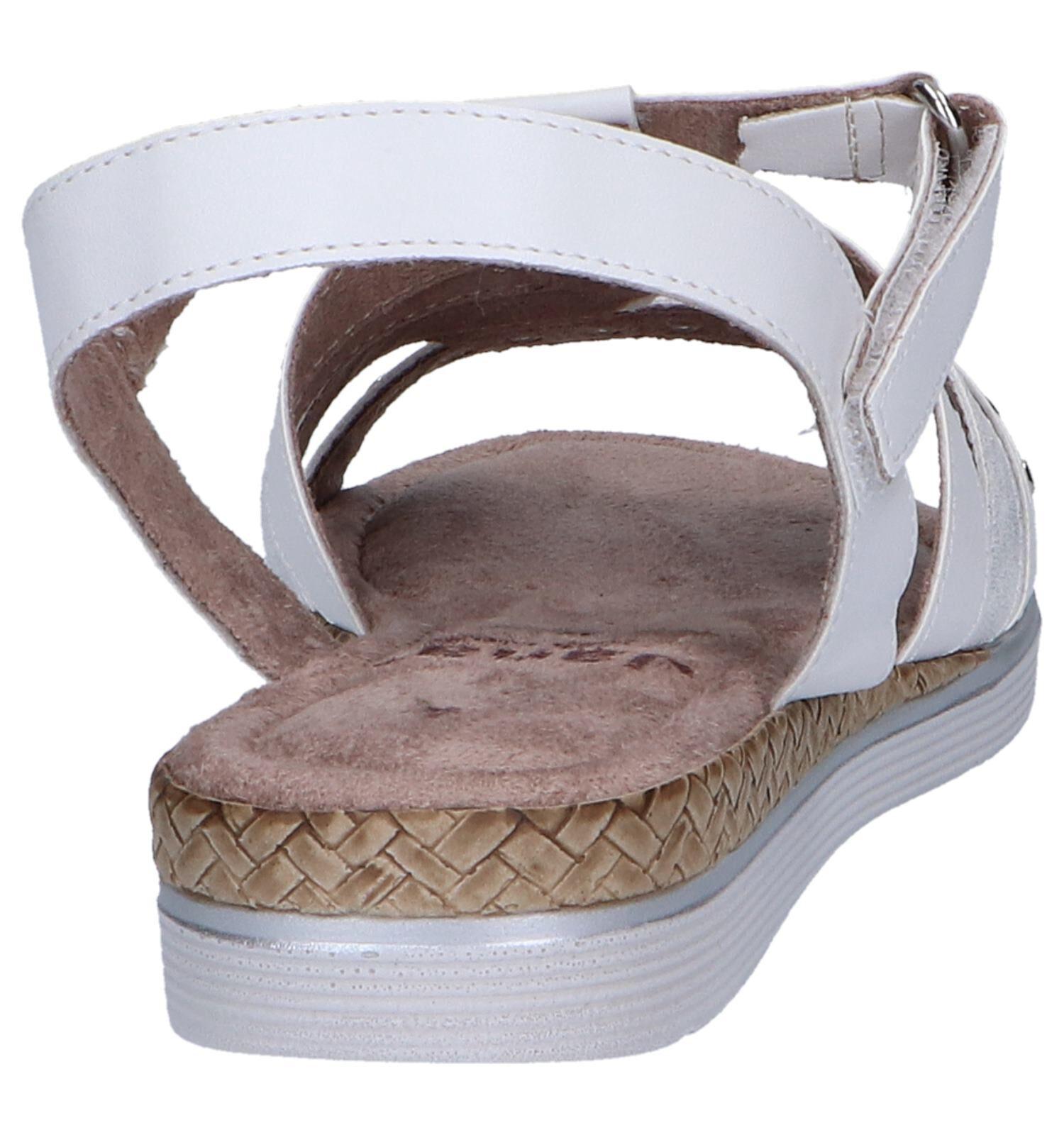 Witte Sandalen Jana