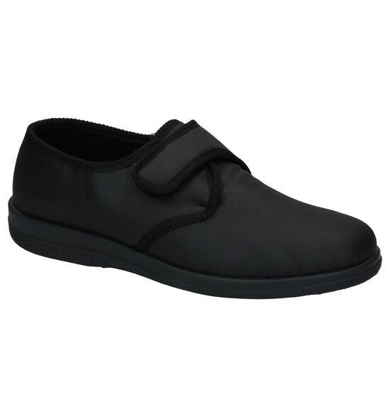 Slippers Comfort Zwarte Pantoffels