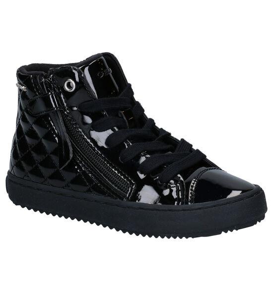 Geox Kalispera Zwarte Hoge Schoenen