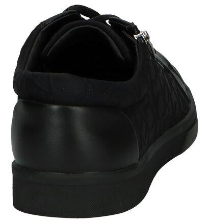 Zwarte Veterschoenen Calvin Klein Ibrahim in leer (242080)