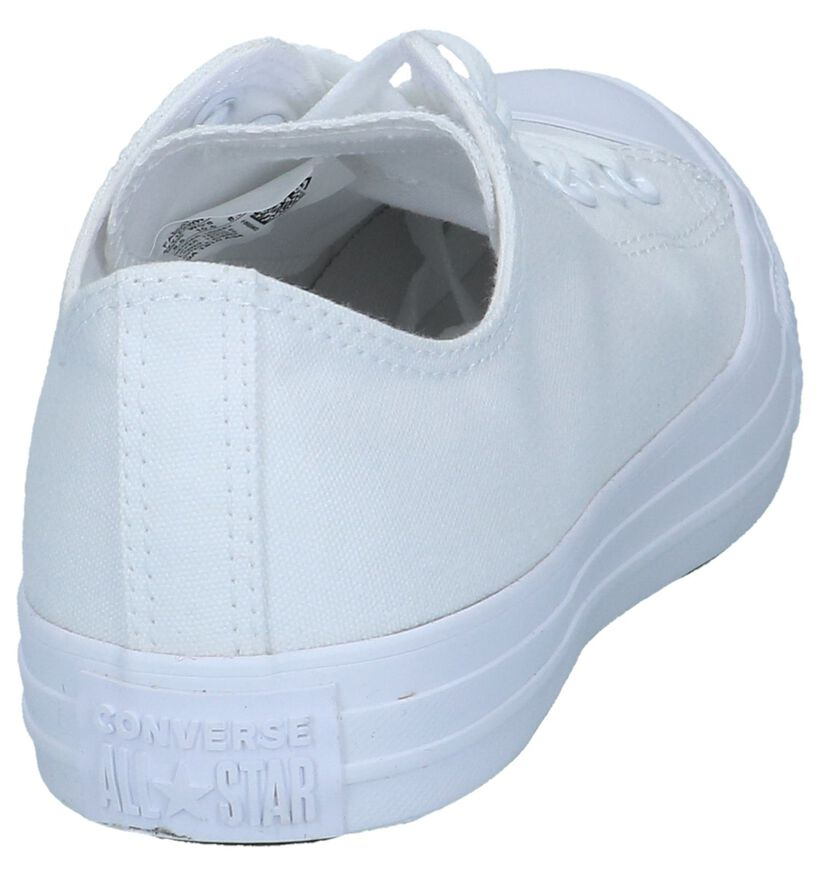Witte Sneakers Converse CT All Star OX in stof (238391)