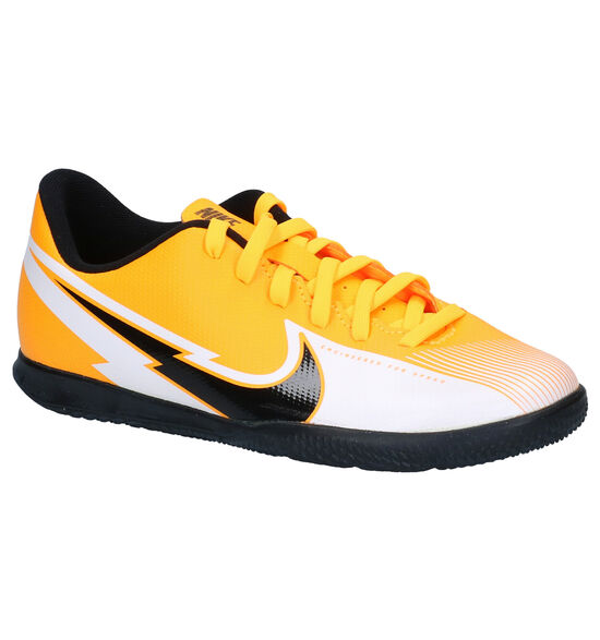 Nike JR Mercurial Oranje/Witte Sportschoenen