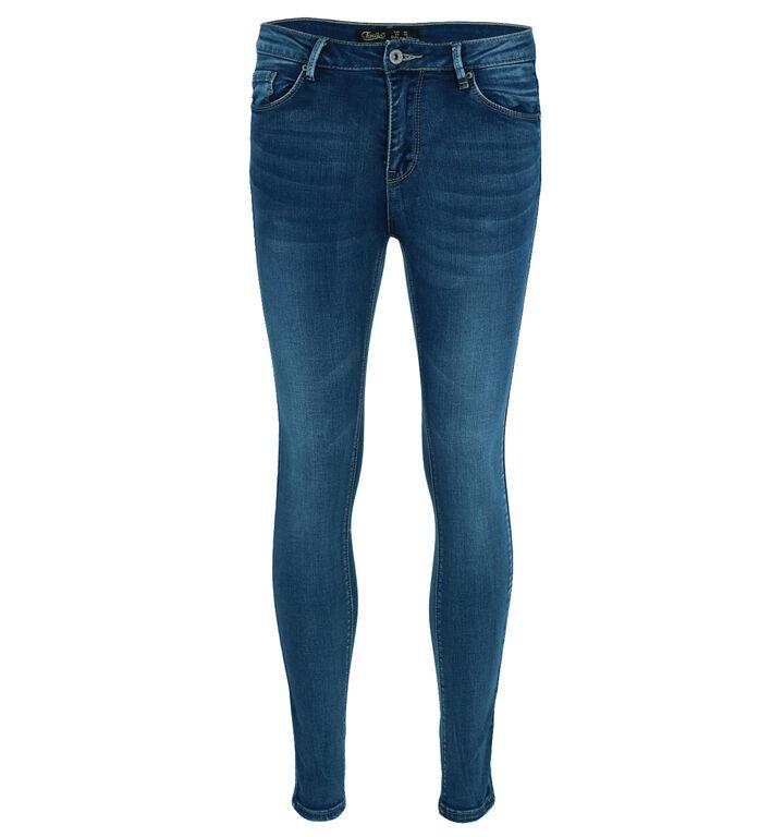 Toxik Blauwe Skinny Fit Jeans