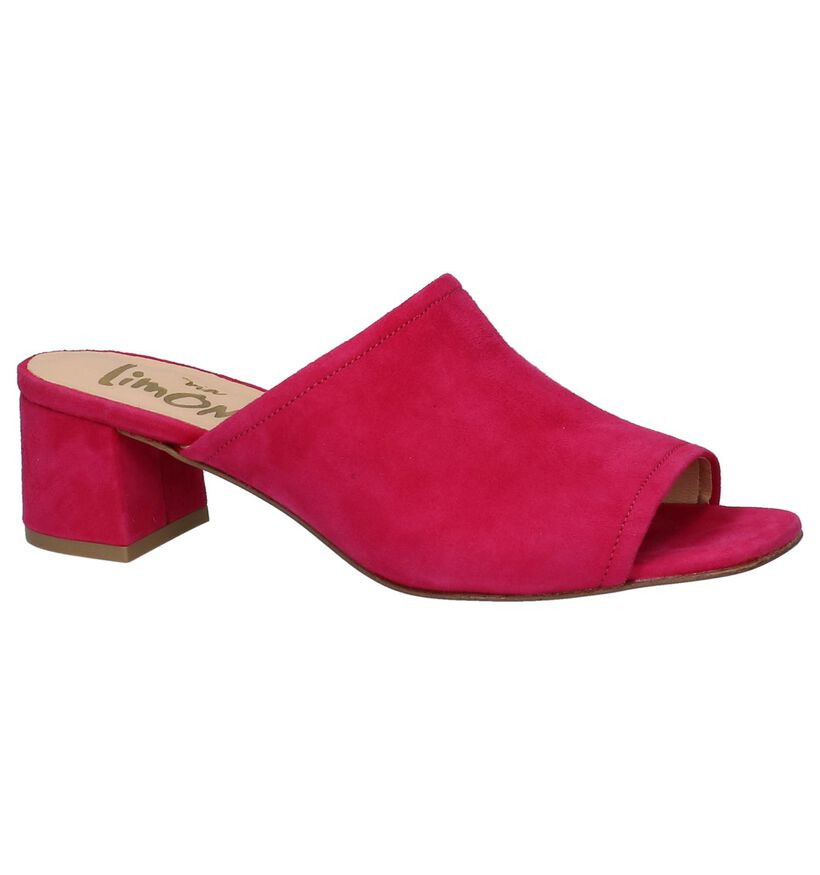 Fuxia Muiltjes Via Limone by Torfs in daim (235690)