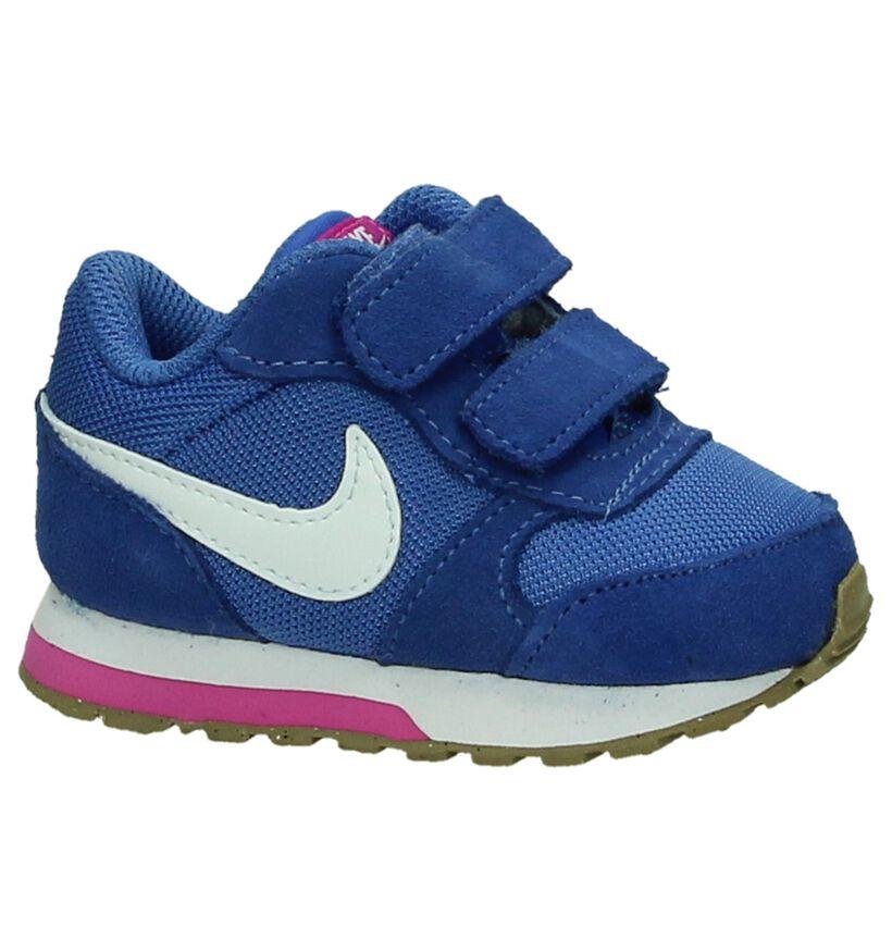 Nike MD Runner Sneaker Blauw in daim (198109)