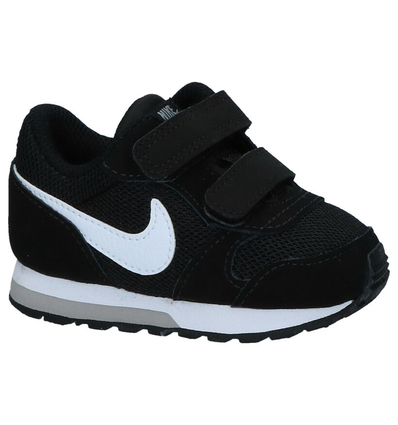 Zwarte Babysneakers Nike MD Runner 2 in daim (249899)