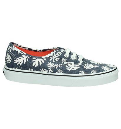 Vans Authentic Sneaker Blauw/Wit, Blauw, pdp