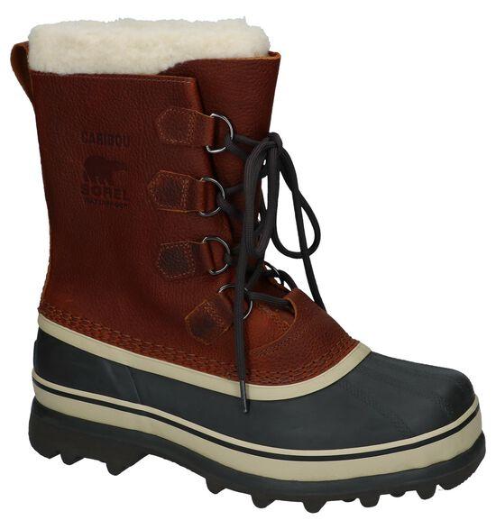 Sorel Caribou Donker Bruine Snowboots