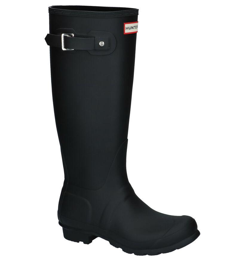Zwarte Regenlaarzen Hunter in rubber (226587)