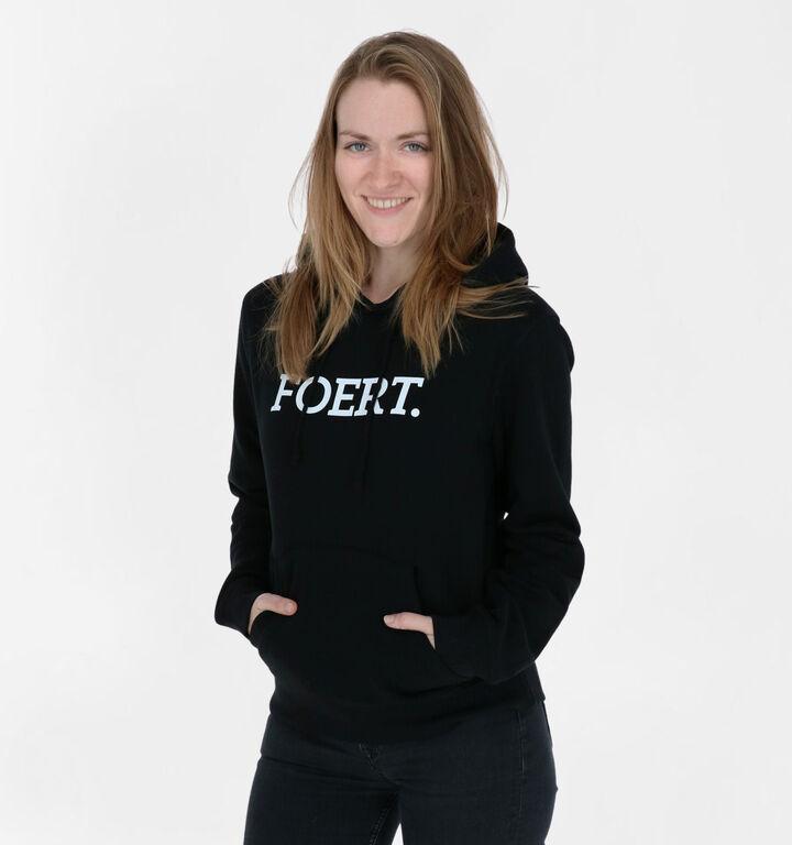 Foert Zwarte Unisex Sweater