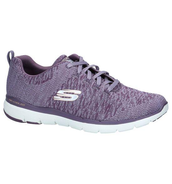 Paarse Sneakers Skechers Flex Appeal